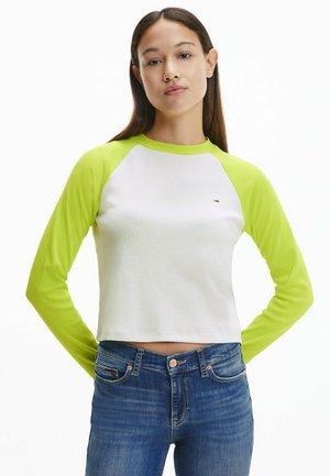 Maglietta a manica lunga - neo lime / multi