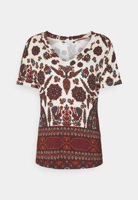 Desigual - BENIN - Camiseta estampada - offwhite - 3