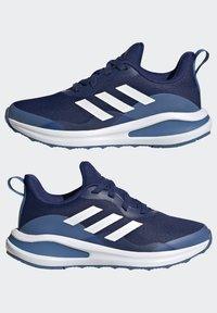 adidas Performance - FORTARUN RUNNING SHOES UNISEX - Neutral running shoes - victory blue/ftwr white/focus blue - 3