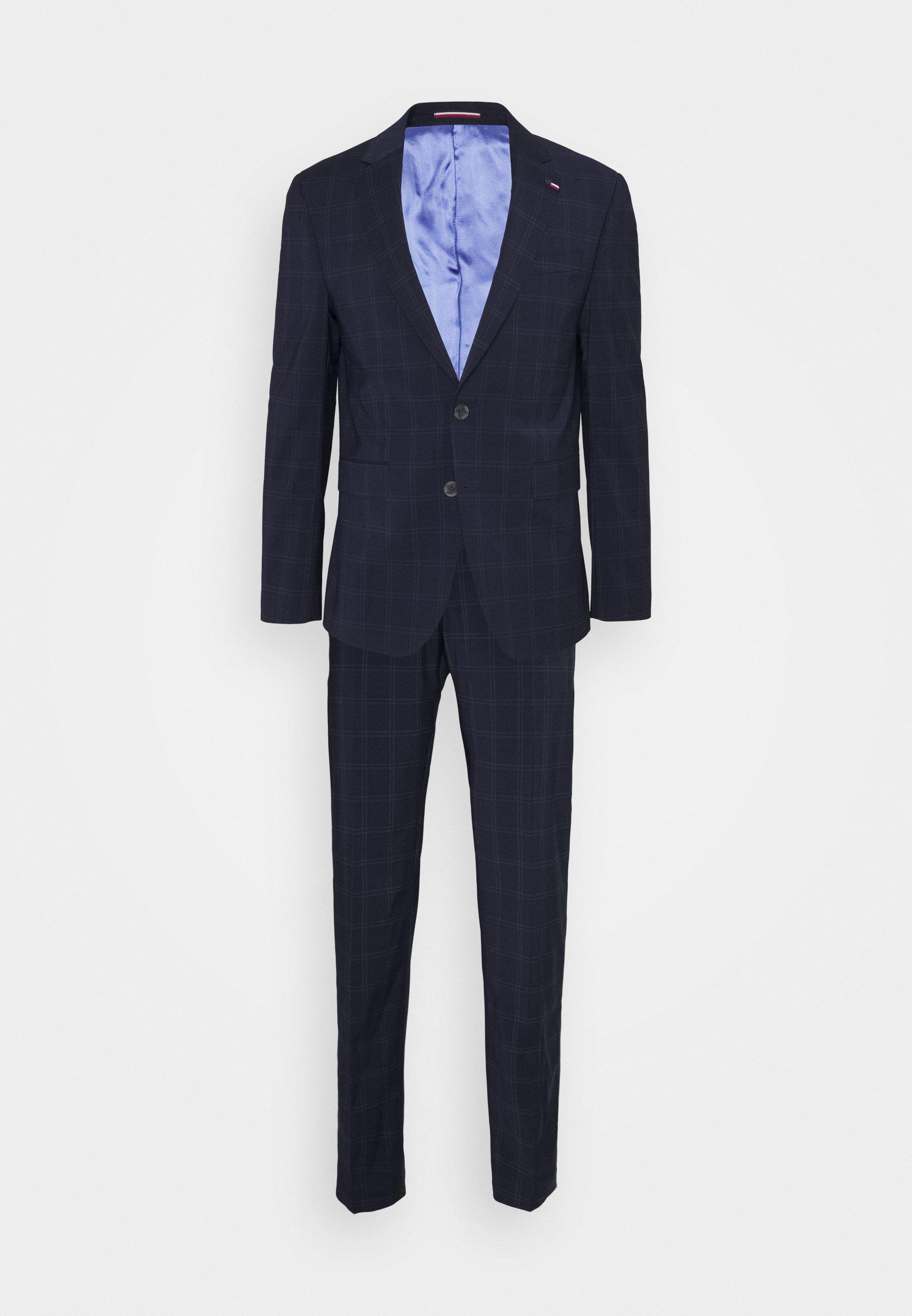 Men FLEX CHECK SLIM FIT SUIT - Suit