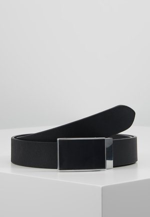 LEATHER - Ceinture - black