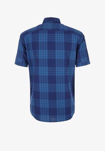 REGULAR: KARIERTES BUTTON DOWN-HEMD - Shirt - surf blue check