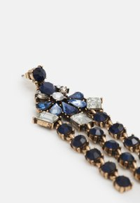 Pieces - PCLOLLU EARRINGS - Boucles d'oreilles - gold-coloured/blue - 2