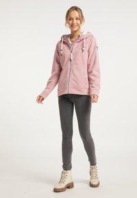Schmuddelwedda - Zip-up hoodie - rosa melange - 1