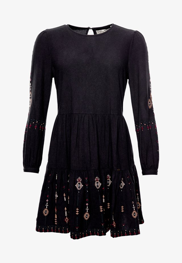 ANISA - Day dress - black multi