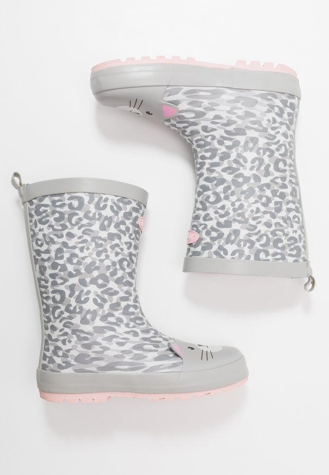 PHOEBE - Wellies - grey/white