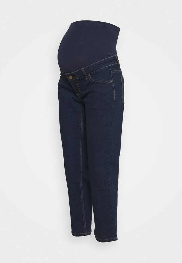 STRAIGHT LEG CROP - Džíny Straight Fit - indigo