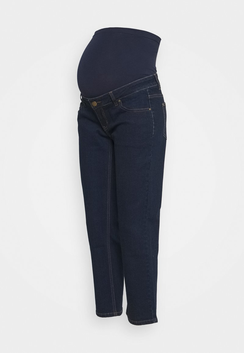 Forever Fit - STRAIGHT LEG CROP - Straight leg jeans - indigo