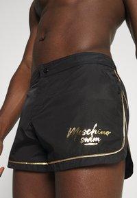 MOSCHINO SWIM - Swimming shorts - black - 0