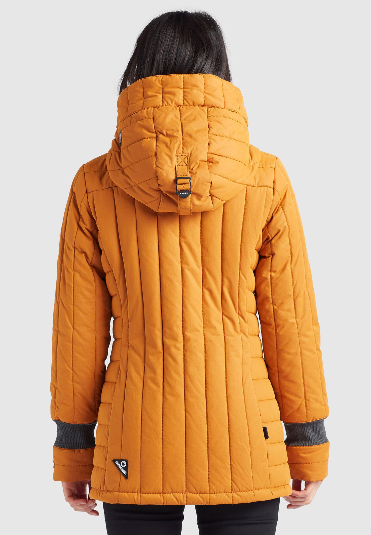 khujo TWEETY PRIME4 Winterjacke karamell/orange
