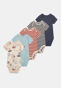 Marks & Spencer London - BABY NAUTICAL 5 PACK - Body - multi-coloured - 0