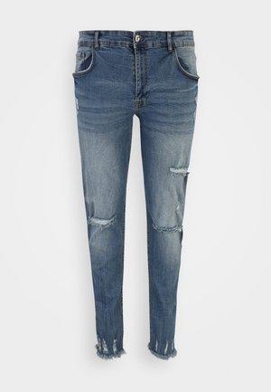 RRSTOCKHOLM DESTROY PLUS - Slim fit jeans - speed blue