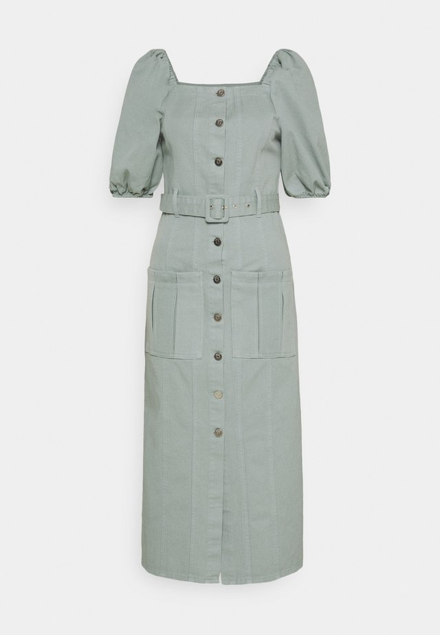 BELLIO DRESS - Denim dress - slate gray