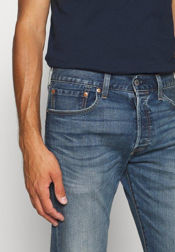 Levi's® 501® ORIGINAL FIT - Jeansy Straight Leg - candy paint/niebieski denim Odzież Męska BVZZ