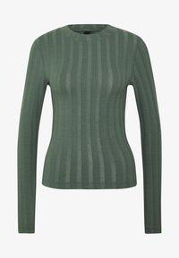 Gina Tricot - BEA TOP - Camiseta de manga larga - duck green - 3