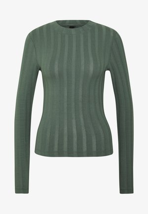 BEA TOP - Long sleeved top - duck green