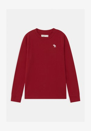 BASIC - Long sleeved top - red