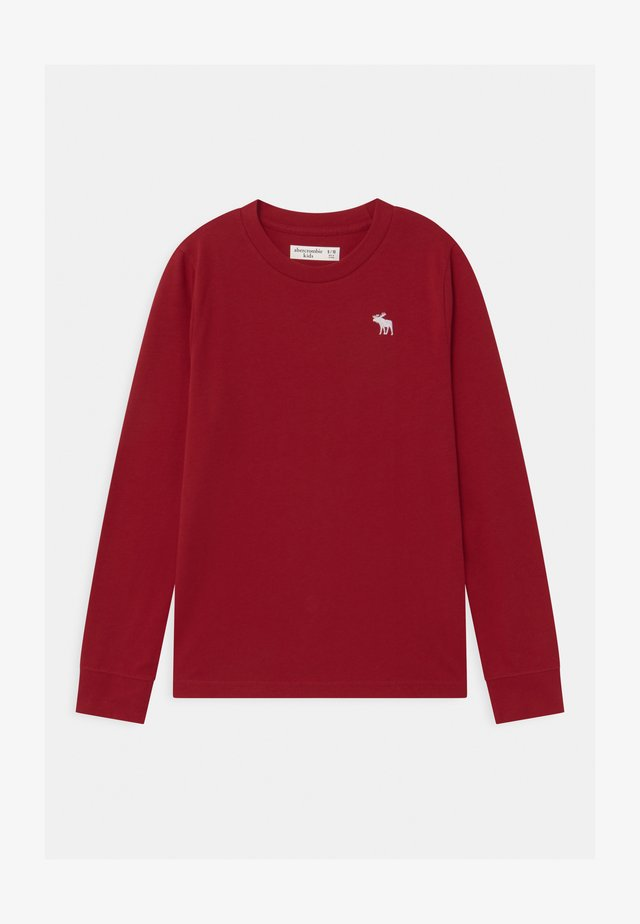 BASIC - Topper langermet - red