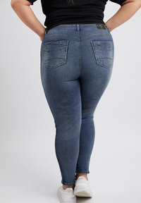 No.1 by Ox - GLITTERY - Slim fit jeans - mid blue - 2