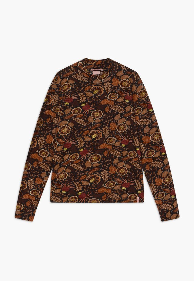 LONG SLEEVE FLOWER - Langærmede T-shirts - multi-coloured