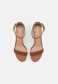 Lauren Ralph Lauren - WAVERLI - Sandals - deep saddle tan - 4