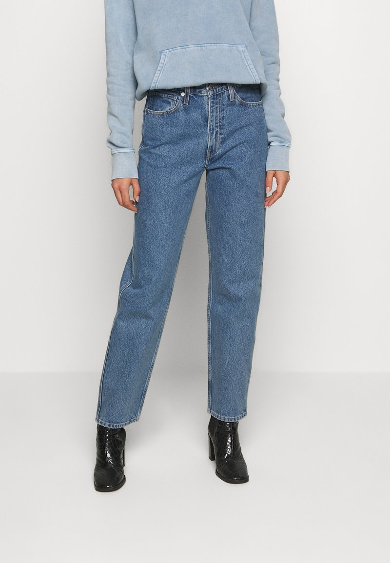 Levi's® Made & Crafted - THE COLUMN - Jeansy Straight Leg - indigo valley