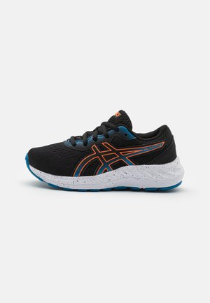 GEL-EXCITE 8 UNISEX - Neutral running shoes - black/marigold orange