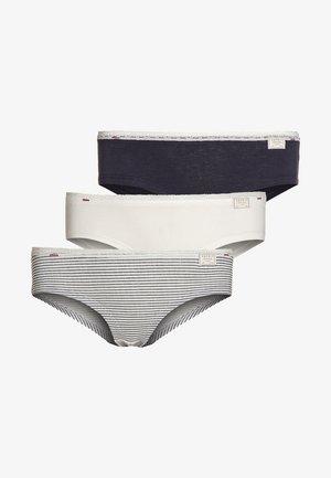 3 PACK - Kalhotky - navy