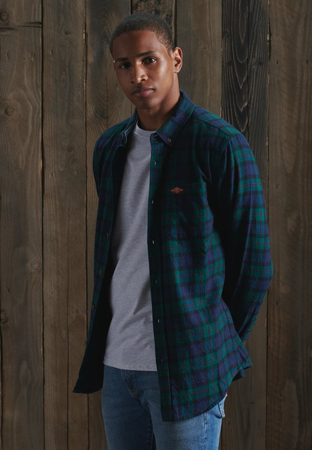 HERITAGE - Overhemd - foden green check