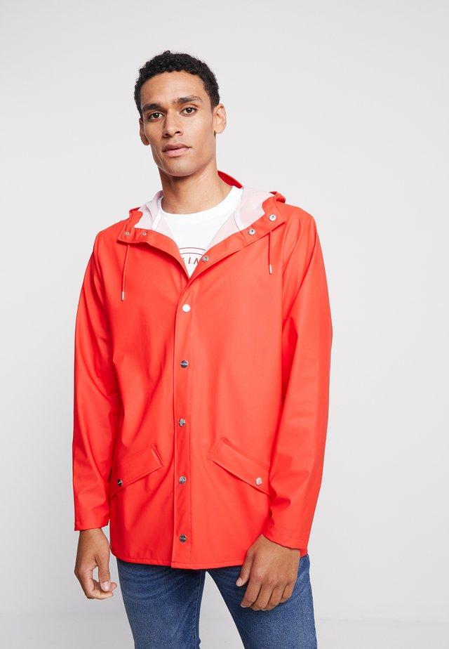 UNISEX JACKET - Waterproof jacket - red