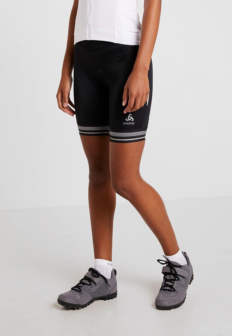 ODLO - SHORT FUJIN - Leggings - black
