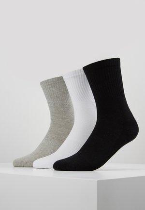 SPORT 3 PACK - Calze - black/white/grey