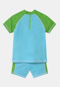 Playshoes - UV-SCHUTZ DINO SET - Rash vest - blau/grün - 1