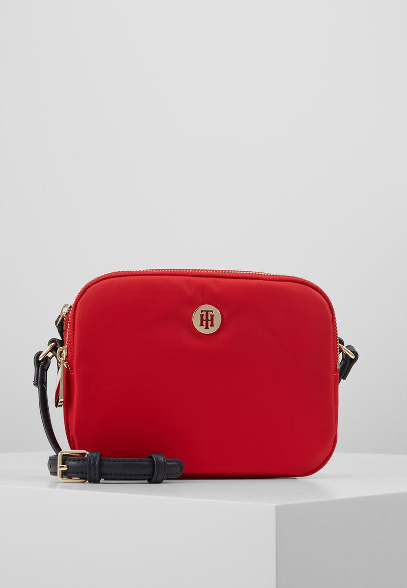 Tommy Hilfiger - POPPY CROSSOVER - Across body bag - red