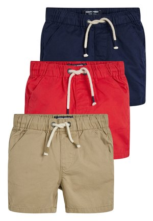 3 PACK PULL-ON SHORTS - Shorts - blue