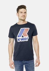 K-Way - PETE MACRO - Print T-shirt - deep blue - 5