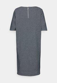 TOM TAILOR - DRESS - Jumper dress - navy/white - 1
