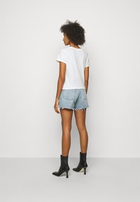 Agolde - LINDA BOXY TEE - Basic T-shirt - tissue off white - 2