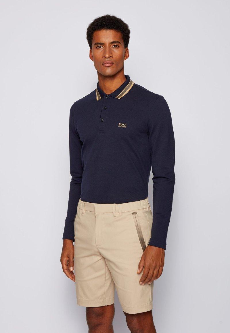 BOSS - PLISY - Poloshirt - dark blue