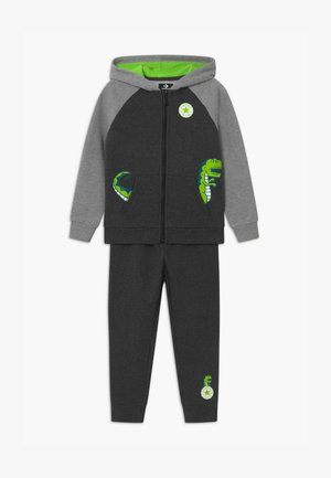COLORBLOCK DINO SET - Tracksuit - black