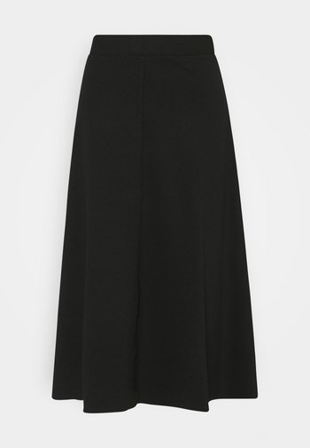SKIRT WITH TOPSTITCHING DETAIL