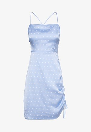 EDDY MINI DRESS - Sukienka letnia - celestial polka