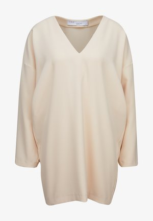Day dress - sand white