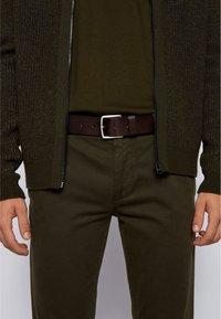 BOSS - Belt business - dark brown - 1