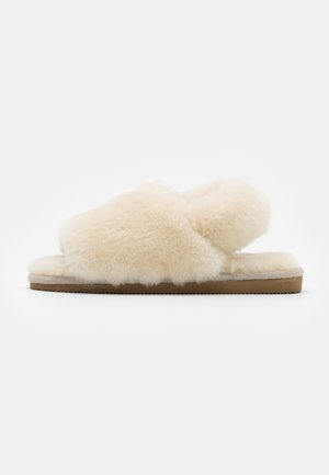 VICKY SCHUHE - Slippers - creme
