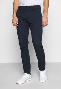 Tommy Jeans - SCANTON PANT - Chinos - twilight navy - 0