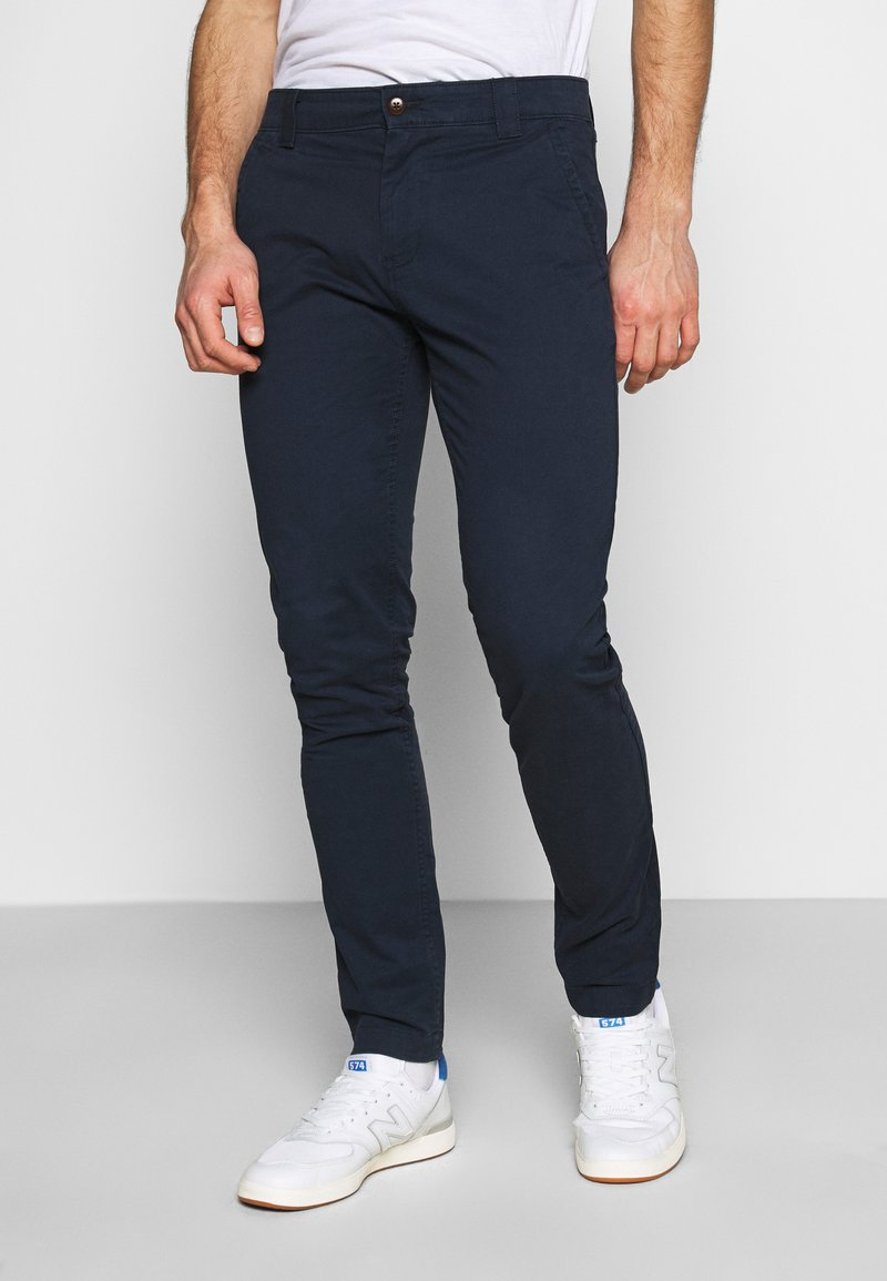 Tommy Jeans - SCANTON PANT - Chinos - twilight navy