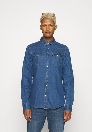 Skjorta - washed indigo