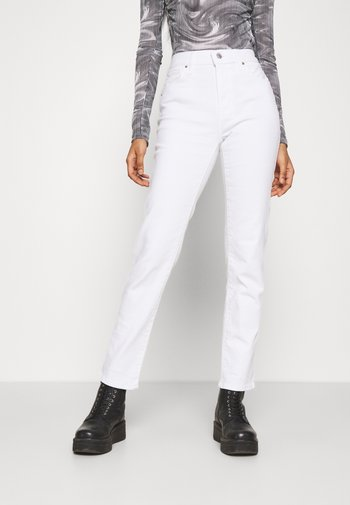 724 HIGH RISE STRAIGHT - Jeansy Straight Leg - western white