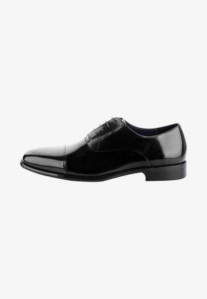 MATERA - Elegantní šněrovací boty - black